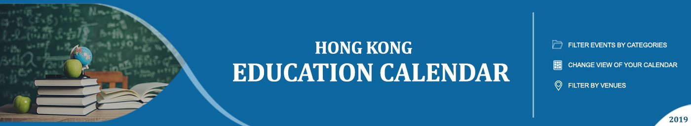 Hong Kong Education Calendar Banner