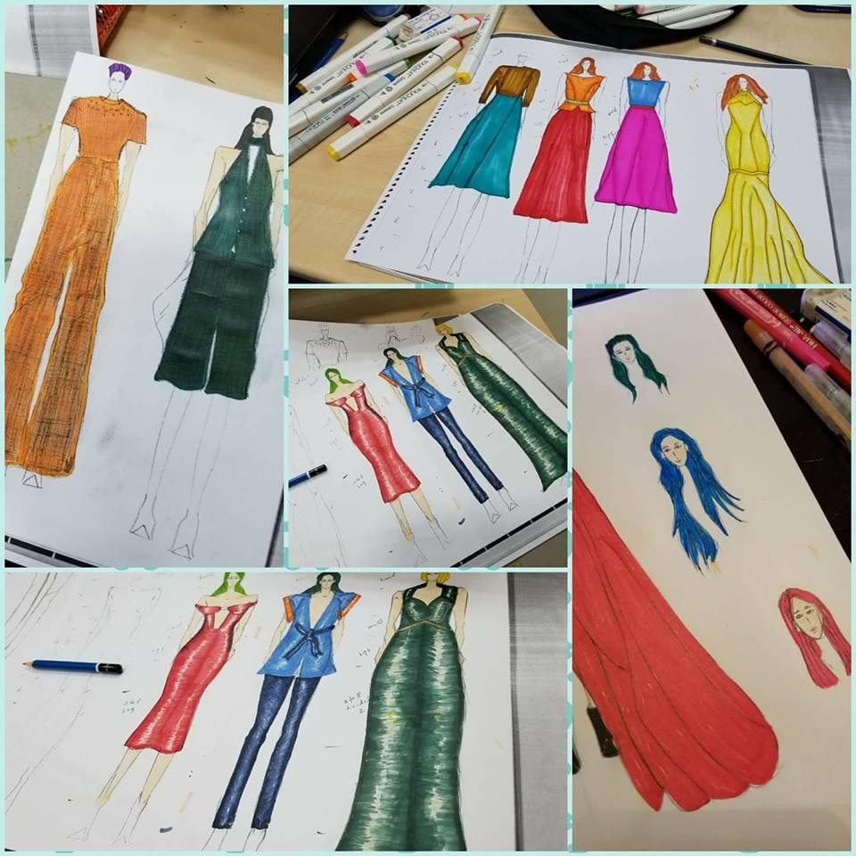 Fashion Design And Fashion Drawing In Hong Kong