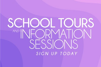 School Tours Information Sessions