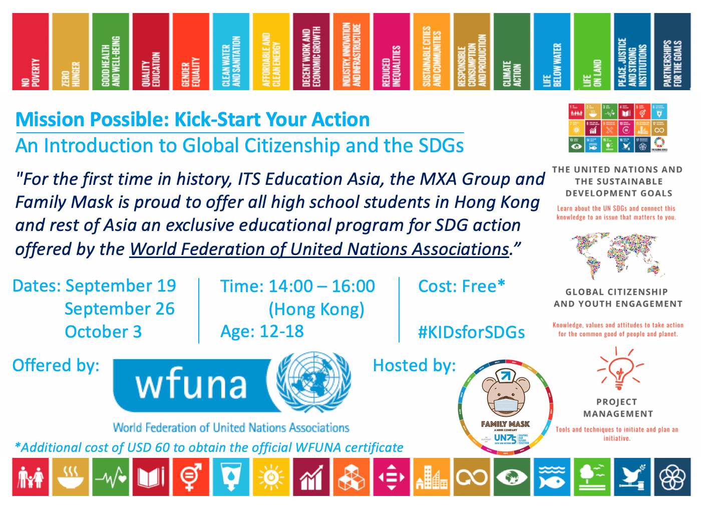 For Mission Possible: Kick-Start Your Action offered by WFUNA