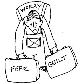 Fear and guilt