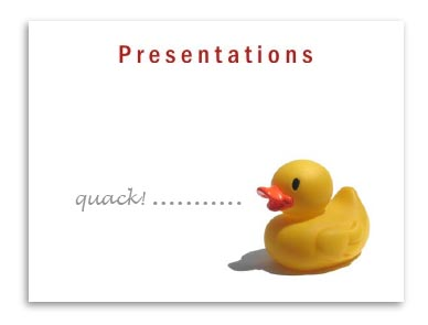 How to present a lecture